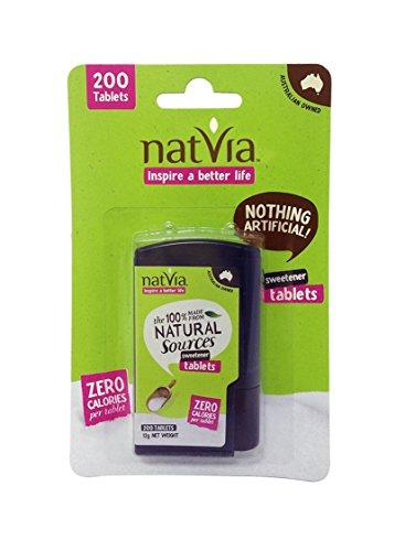Preisvergleich Produktbild Natvia Sweetener Tablets (Pack of 200)