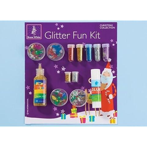 Glitter e colla Fun Set -Scrapbooks, carte di natale