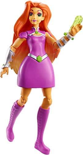 DC Super Hero Hero Hero Girls Figurine Articulée Starfire de 15 cm rousse en tenue de super-héroine à collectionner, jouet enfant, FGR71 | Soyez Bienvenus En Cours D'utilisation  1bfcc0