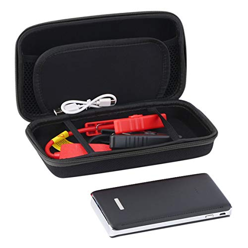 Fantasyworld 30000mAh Portable Car Jump Starter Pack Booster LED Chargeur de Batterie Alimentation Banque Urgence Démarrage Portable Alimentation
