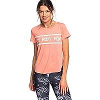 Roxy Shine On Me-Camiseta Deportiva para Mujer, rosarancio, M