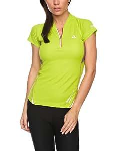 Dare 2b Women's Afterglow Reflective Cycle Jersey - Key Lime, 20 UK