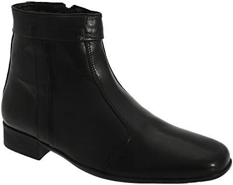 Scimitar - Botas a los tobillos con cremallera interior para hombre