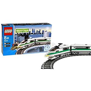 Lego World City 4511 High Speed Train Amazon Co Uk Toys