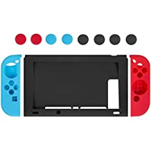 Custodia Silicone Nintendo Switch - Younik Case Protettivo in Silicone per Console Nintendo Switch & Controller Joy-Con
