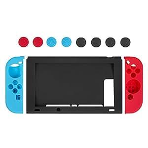 Custodia Silicone Nintendo Switch - Younik Case Protettivo in Silicone per Console Nintendo Switch & Controller Joy-Con