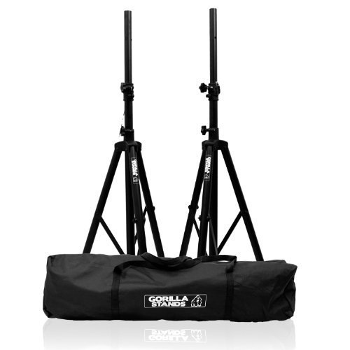 gorilla-tripod-pa-speaker-stands-with-carry-bag-lifetime-warranty