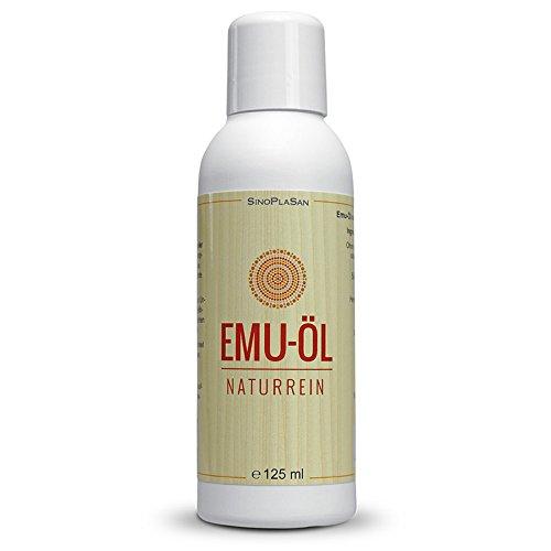 Emu-Öl 125ml Spender, 100% naturrein, ohne jegliche Zusatzsstoffe - Emu-Öl