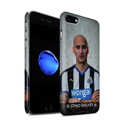 Offiziell Newcastle United FC Hülle / Matte Snap-On Case für Apple iPhone 7 / Mbemba Muster / NUFC Fussballspieler 15/16 Kollektion Shelvey