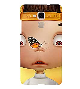 Fabcase cartoon boy butterfly Designer Back Case Cover for Huawei Honor 5c