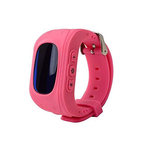 Reloj inteligente para niños/Reloj GPS de posicionamiento SOS/Reloj deportivo ajustable/Reloj electrónico para...