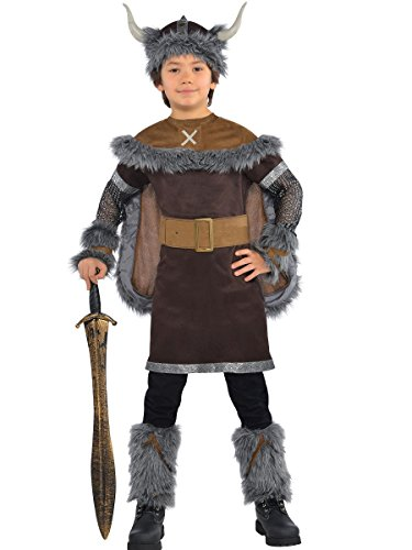 Wikinger Kostüm Kinder Gr. (Kostüm Belt Boy Toy)