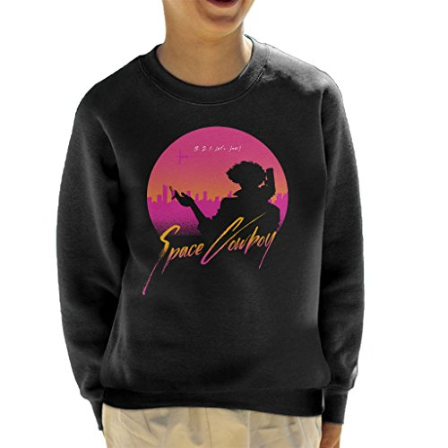 3 2 1 Lets Jam Cowboy Bebop Kid's Sweatshirt (Space 11 Jam Kids)