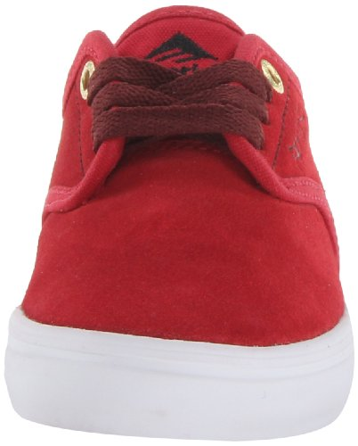 Emerica  LACED BY LEO ROMERO, basket mixte enfant Rouge - Rot (red/white 440)