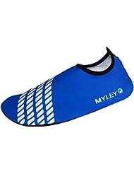 Spokey surf zapatillas de baño surf adulto zapatos blau und grau Talla:40