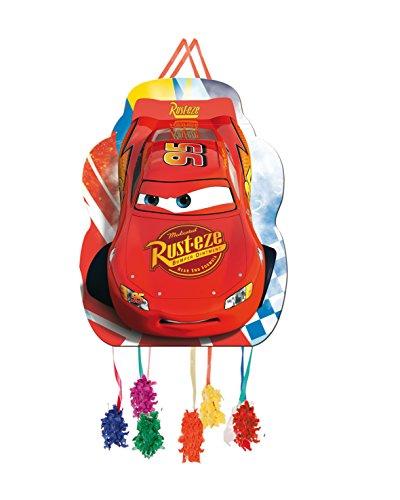 Verbetena, 014000995, Piñata perfil disney Cars, 33x46 cm