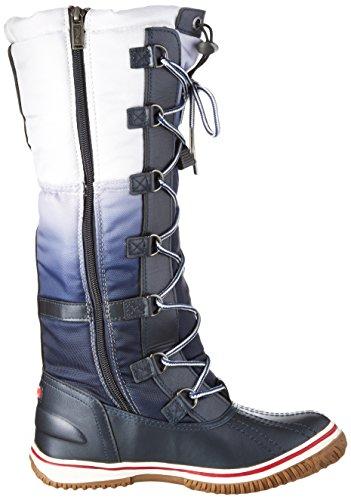 Pajar - Gia, Stivali a metà gamba con imbottitura pesante Donna Blu (Blau (Navy/white))
