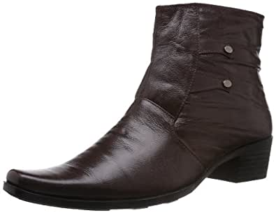 Mochi Men's Brown Boots - 9 UK (19-3091)