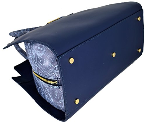 Borsa Bauletto Tracolla Donna Marine//Denim Alviero Martini Bag Woman Blue