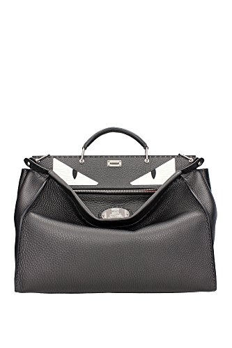 7VA3888F3F0CQT-Fendi-Hand-Bags-Men-Leather-Gray