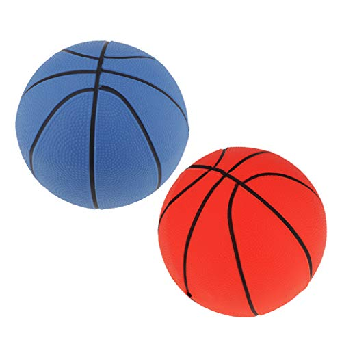 B Blesiya 2pcs Mini Baloncesto Hinchable