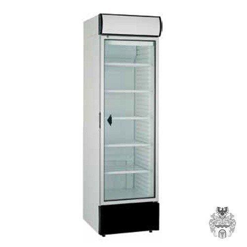 Flaschenkühler 348 L, Glastür und Display