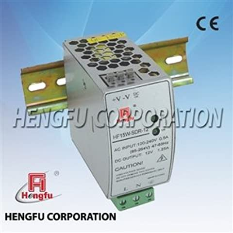 Heng Fu - Alimentatore a commutazione su guida DIN, 24V,