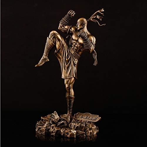 QYSZYG LOL-Held zu hoher Box-Champion Li Qing Modellimitation Bronzestatue