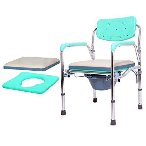 Commode âgée déplaçant Les Femmes Enceintes siège de Toilette Chaise Pliante Commode Chaise de Bain handicapés