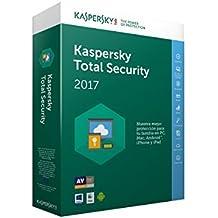 Kaspersky Total Security 2017 - Software De Seguridad Y Antivirus, 3 Usuarios, 1 Año