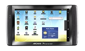 Archos 70 Internet Tablet 8 GB, 17,78 cm (7 Zoll) (Kapazitiv-Multitouch Display, Android 2.2 Froyo , 1 GHz Prozessor,  WiFi, Flash Support, 360° Lagesensor, HDMI, USB 2.0)