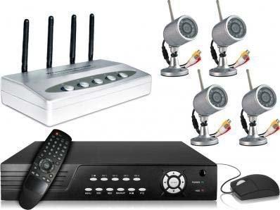 iPhone/Blackberry/Smartphone Zugriff System... Artcandi Sicht auf das CCTV mit dem Telefon oder PC... x4 Funk & Tag wetterfest/Nacht interne/externe CCTV Security Kameras mit 500 GB CCTV DVR Pack - Dvr-pack