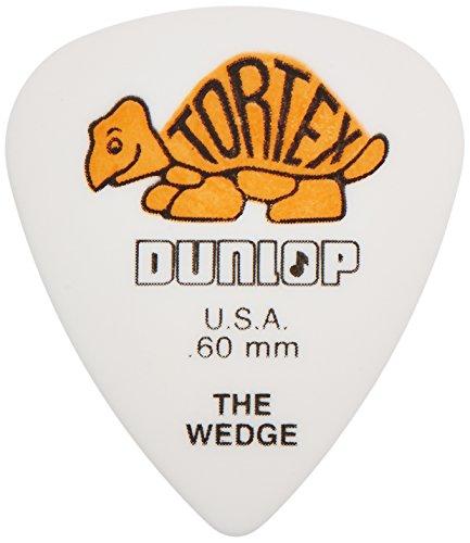 DUNLOP 424 PúAS TORTEX WEDGE PLAYERS BIG PACK NARANJAS 0 60 MM