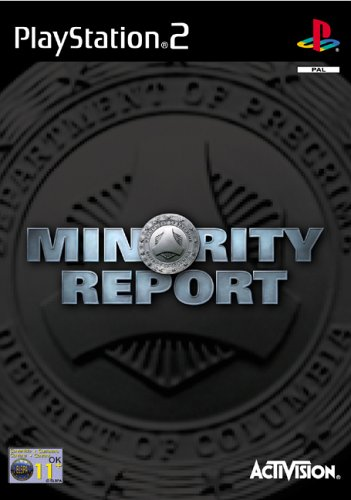 Click for larger image of Minority Report (PS2)
