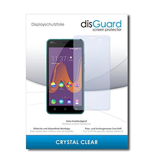 disGuard® Bildschirmschutzfolie [Crystal Clear] kompatibel mit Wiko k-Kool [3 Stück] Kristallklar, Transparent, Unsichtbar, Extrem Kratzfest, Anti-Fingerabdruck - Panzerglas Folie, Schutzfolie