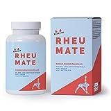 RHEUMATE | Die All-in-One Rezeptur im Bereich Rheuma und Gelenke | 100% vegane Gelenkkapseln mit 10 Zutaten | Nachhaltig aus Deutschland | 30-Tages-Portion