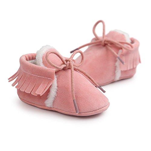 JL store , Chaussures premiers pas pour bébé (fille) @4 Suitable Age12~18 month rose