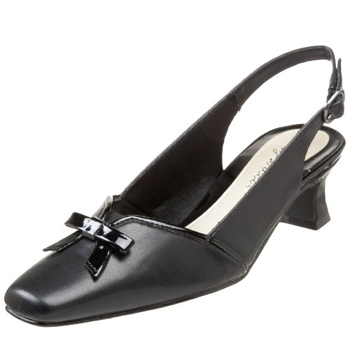 Easy Street donna IncRossoible Pump,Nero Patent,6 W US