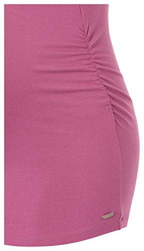 Esprit Maternity O84745 - T-shirt de Maternité - Femme Rose - Rosa (Creamy Berry 684)