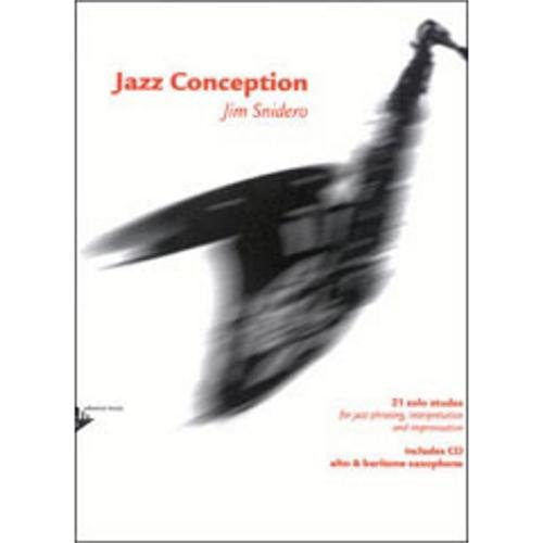 Jazz Conception : 21 solos etudes for ja...