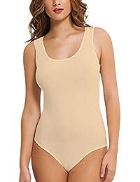 N-Lingerie Damen Body- Achselhemd- Unterhemd- (90% Baumwolle) Qualität