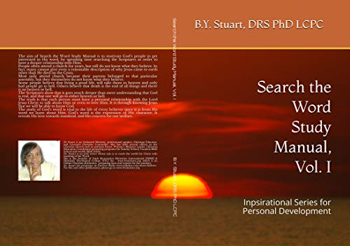SEARCH THE WORD STUDY MANUAL, VOL. 1 (English Edition) eBook: B. Y ...