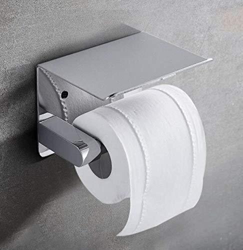 FuweiEncore Porta Carta igienica Porta Rotolo a Parete WC Bagno Bagno Creativo Porta Asciugamani in Carta igienica Porta Carta igienica Rame, A (Colore : B, Dimensione : -)