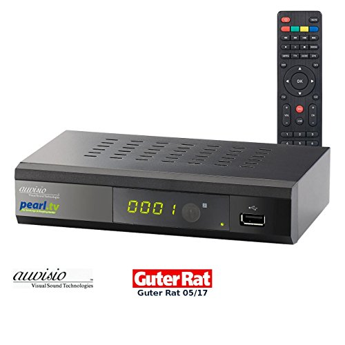 auvisio Kabel Receiver: Digitaler DVB-C-Kabelreceiver DCR-100.fhd, Full HD, mit pearl.tv (DVB-C2-Kabelreceiver)