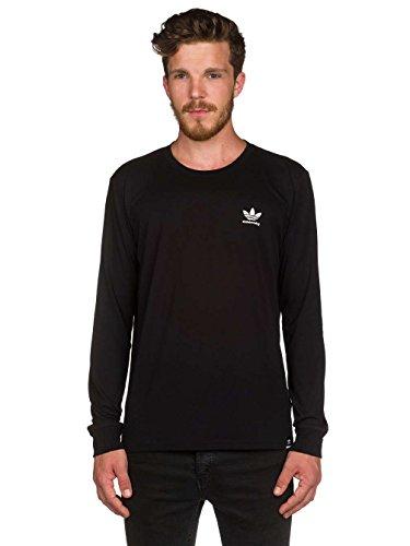 Herren Langarmshirt adidas Skateboarding Clima 2.0 T-Shirt Black
