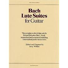 Bach Lute Suites For Guitar Gtr
