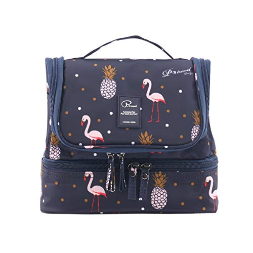 Tuscall Kulturbeutel zum aufhängen Kulturtasche für Damen - Waschbeutel Kosmetiktasche mit Haken für Reisen, Urlaub, Outdoor