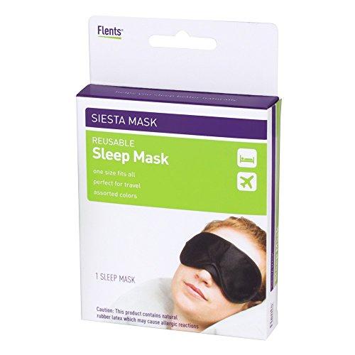 Flents Masque anti-lumière Siesta masque de sommeil Réutilisable