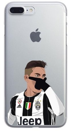 Coque iPhone 6/6S Paulo Dybala célébration 21 Football Juventus