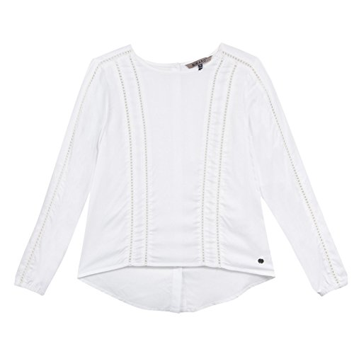 b-karo-noir-peche-top-a-manches-longues-fille-ecru-blanc-casse-small-taille-fabricant-s